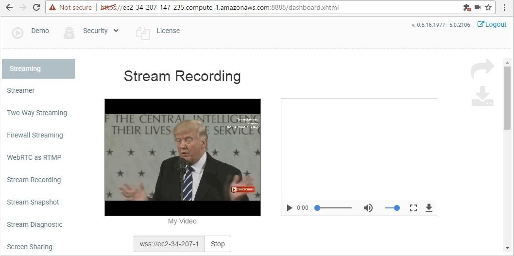 Запуск WebRTC медиасервера в облаке Amazon EC2 для Live видеотрансляций из браузеров и мобильных приложений - 12