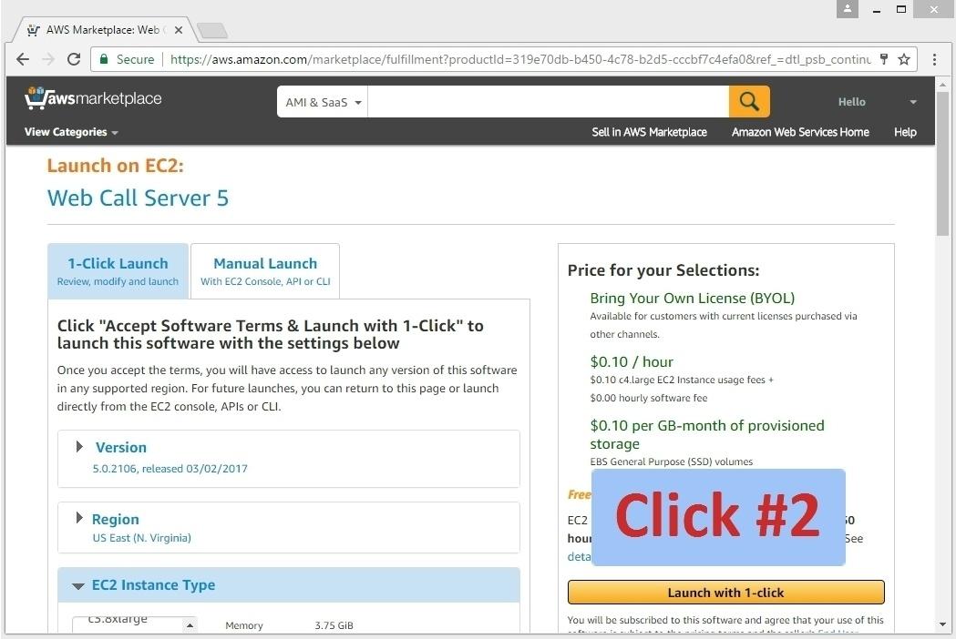 Запуск WebRTC медиасервера в облаке Amazon EC2 для Live видеотрансляций из браузеров и мобильных приложений - 6