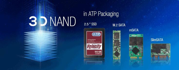 ATP Electronics 3D NAND SSD