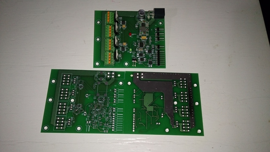 Мощный четырехканальный диммер для светодиодов - 1