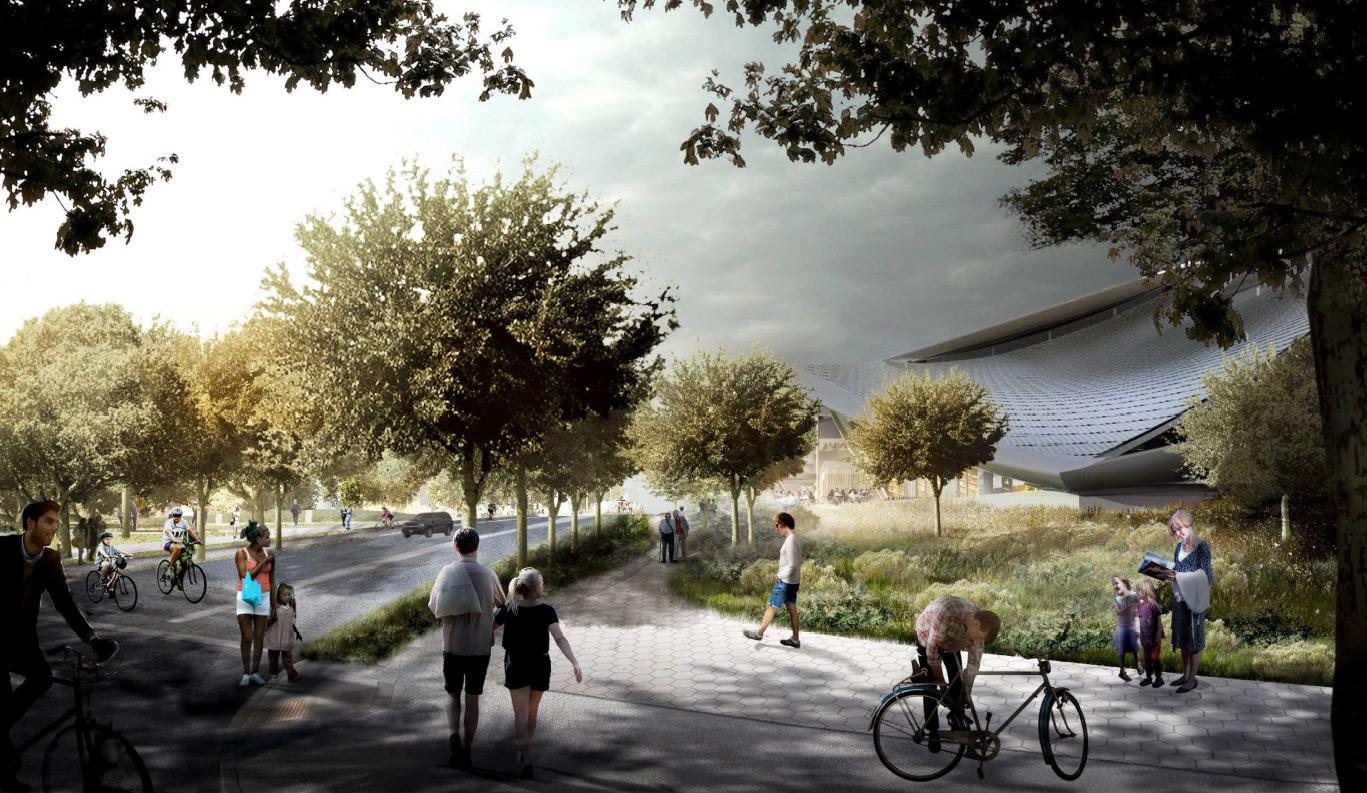 Google получила разрешение на строительство футуристичного здания новой штаб-квартиры - 10