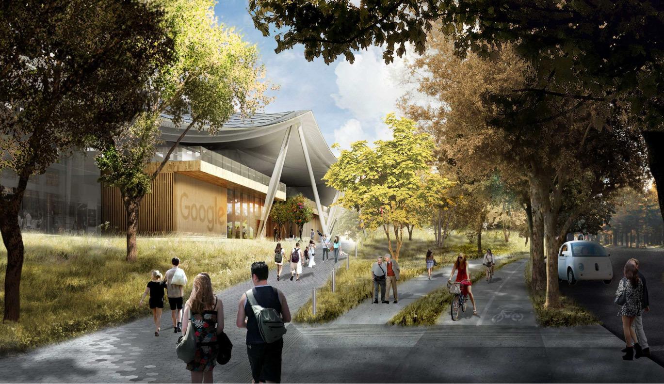 Google получила разрешение на строительство футуристичного здания новой штаб-квартиры - 12