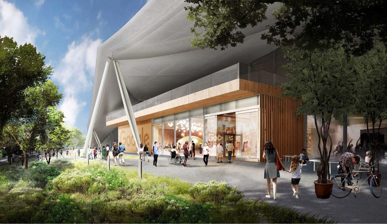 Google получила разрешение на строительство футуристичного здания новой штаб-квартиры - 13