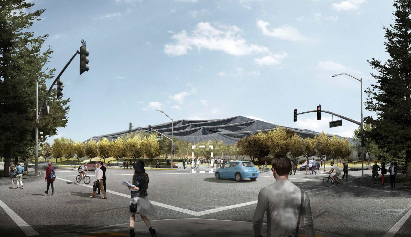 Google получила разрешение на строительство футуристичного здания новой штаб-квартиры - 16