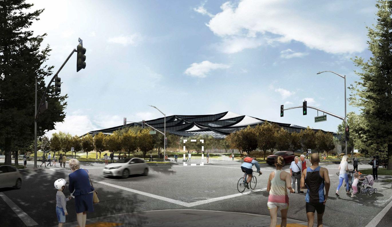 Google получила разрешение на строительство футуристичного здания новой штаб-квартиры - 17