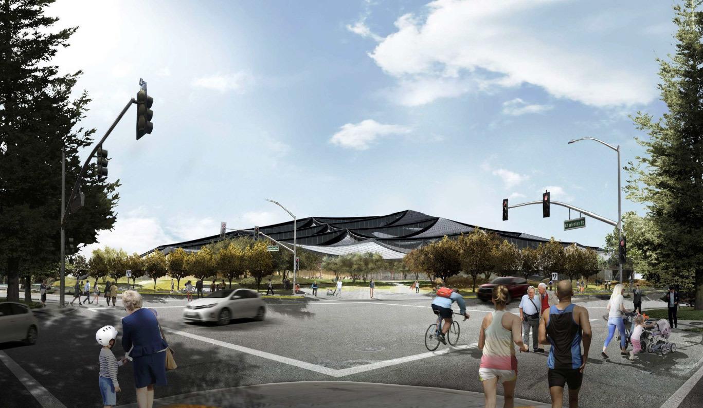 Google получила разрешение на строительство футуристичного здания новой штаб-квартиры - 21