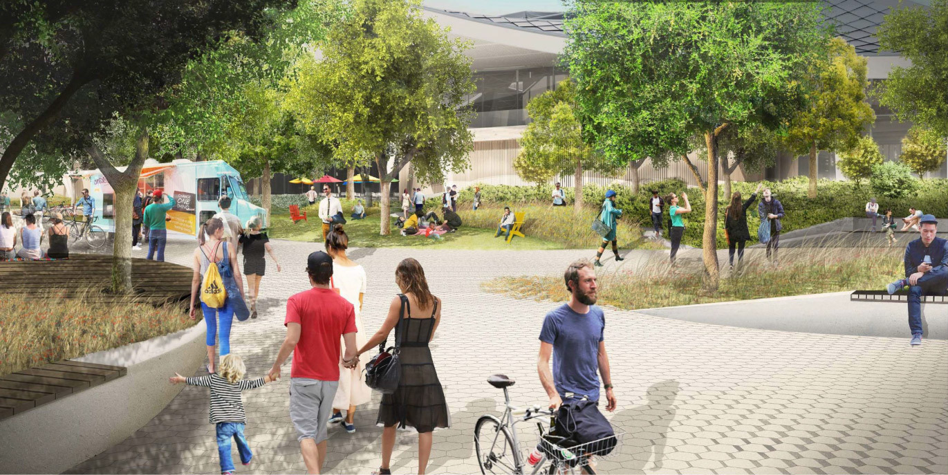 Google получила разрешение на строительство футуристичного здания новой штаб-квартиры - 27