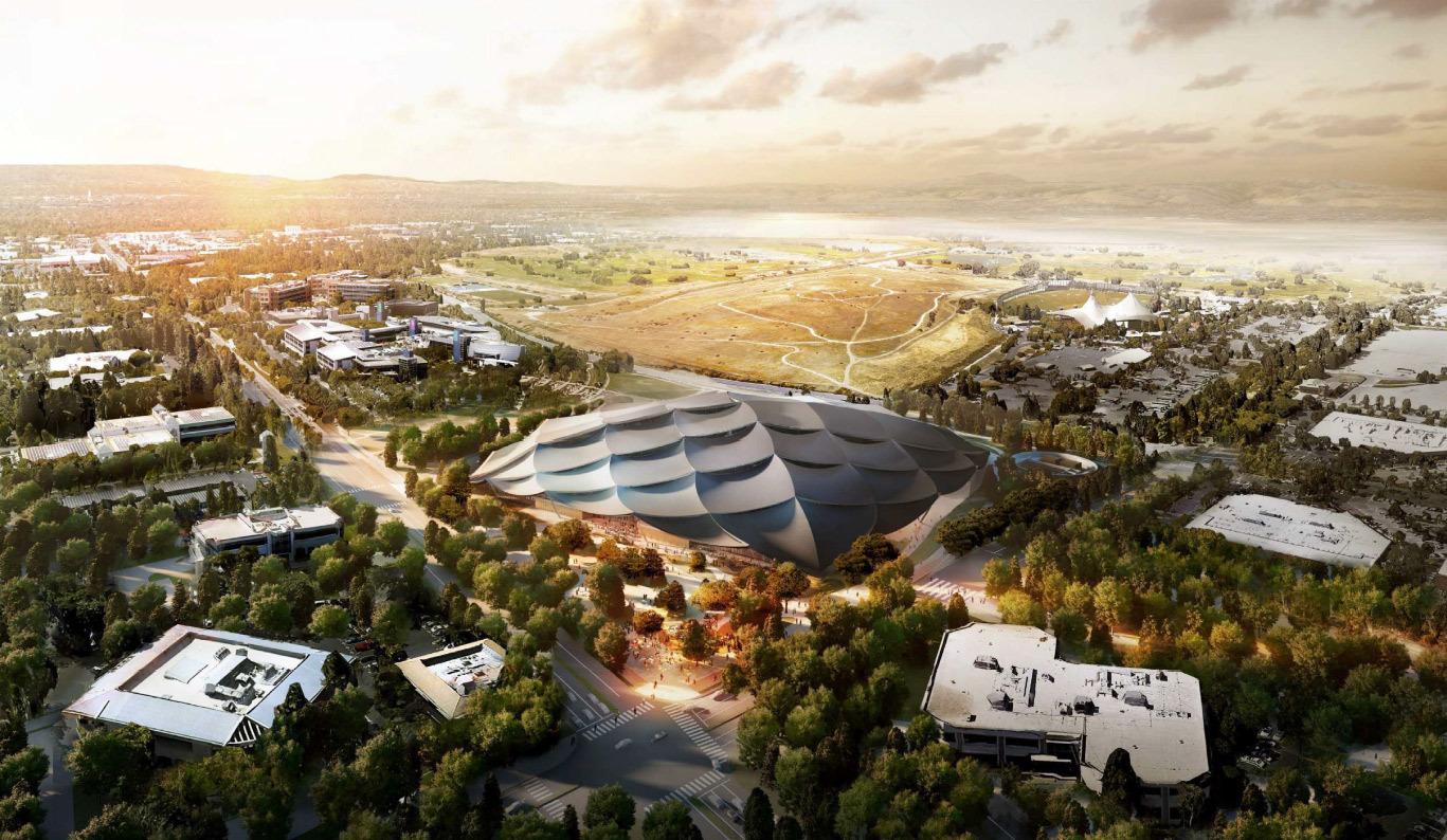 Google получила разрешение на строительство футуристичного здания новой штаб-квартиры - 9