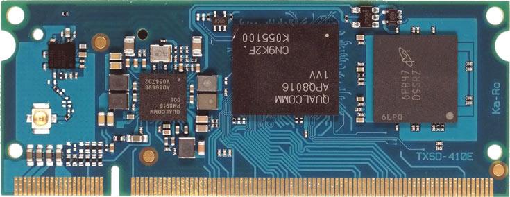 Ka-Ro TXSD — компьютер в форме модуля SO-DIMM