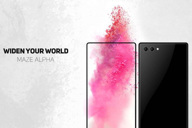 Безрамочный смартфон Maze Alpha должен составить конкуренцию Xiaomi Mi Mix