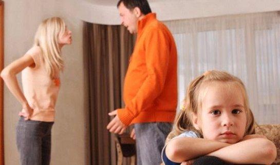 Развод разрушает психику детей