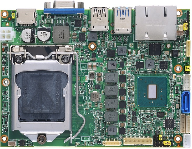 Системная плата Axiomtek CAPA500 получила два порта Gigabit Ethernet