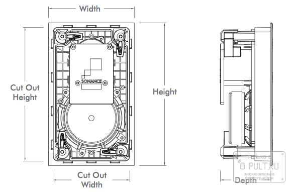 «Анатомия» домашних акустических систем: встраиваемая акустика, мой звук – мои стены - 6