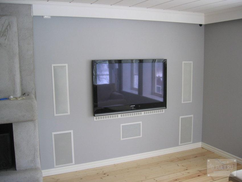 «Анатомия» домашних акустических систем: встраиваемая акустика, мой звук – мои стены - 9