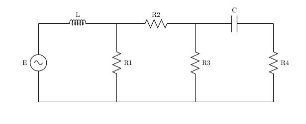 Моделирование электрической цепи - 1