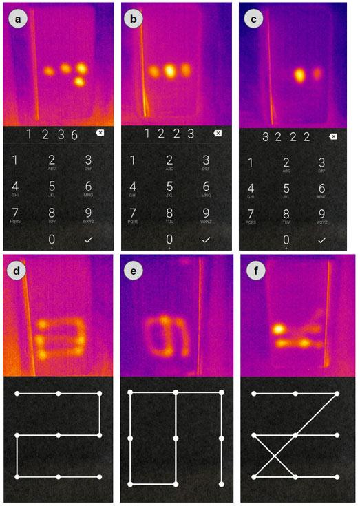 Немецкие исследователи показали, что по тепловому следу можно узнать пин-код для смартфона
