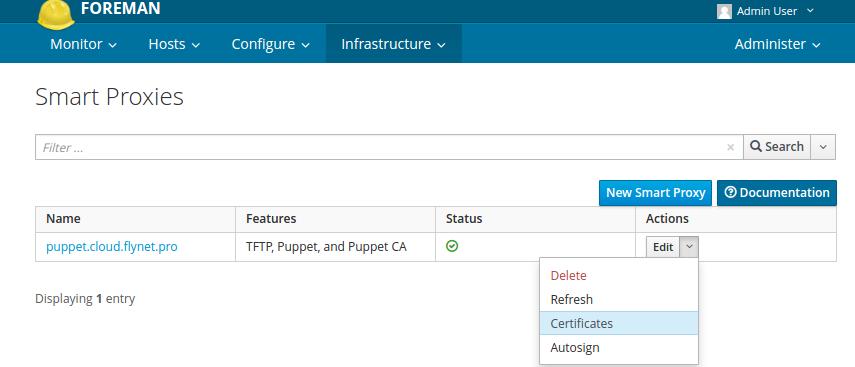 Установка и настройка Puppet + Foreman на Ubuntu 14.04 (пошаговое руководство) - 11
