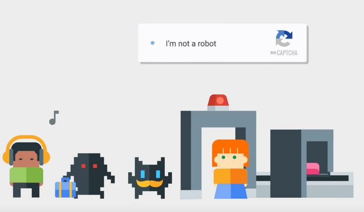 reCAPTCHA Google станет невидимой