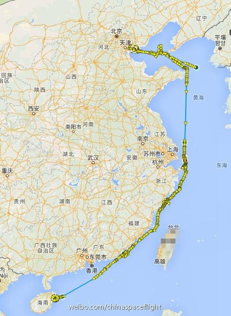 Подготовка к запуску первого китайского грузового корабля вышла на финишную прямую - 2