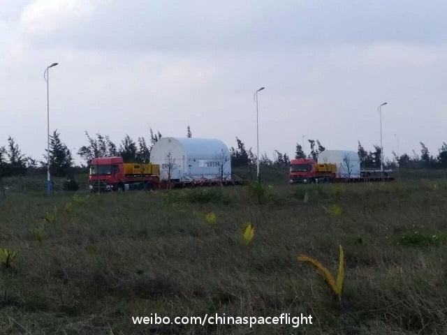 Подготовка к запуску первого китайского грузового корабля вышла на финишную прямую - 4