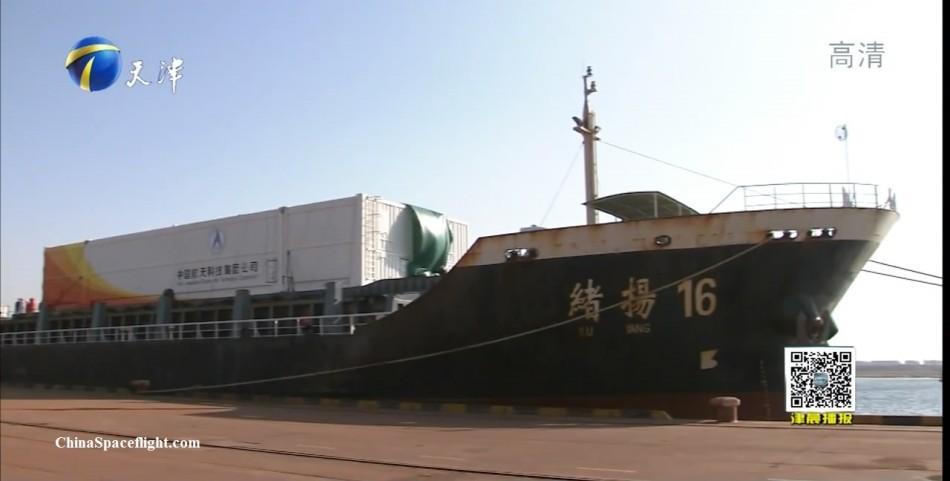 Подготовка к запуску первого китайского грузового корабля вышла на финишную прямую - 7