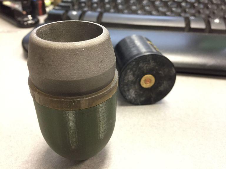 Военные США напечатали гранатомет R.A.M.B.O - 3