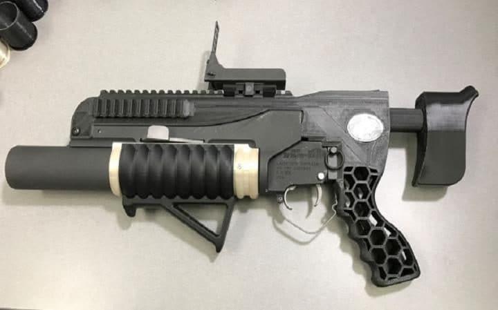 Военные США напечатали гранатомет R.A.M.B.O - 1