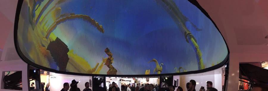 Что было на выставке ISE-2017 (средства отображения, светодиоды, софт для экранов) - 12