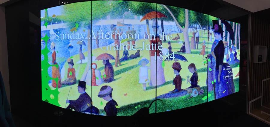 Что было на выставке ISE-2017 (средства отображения, светодиоды, софт для экранов) - 18