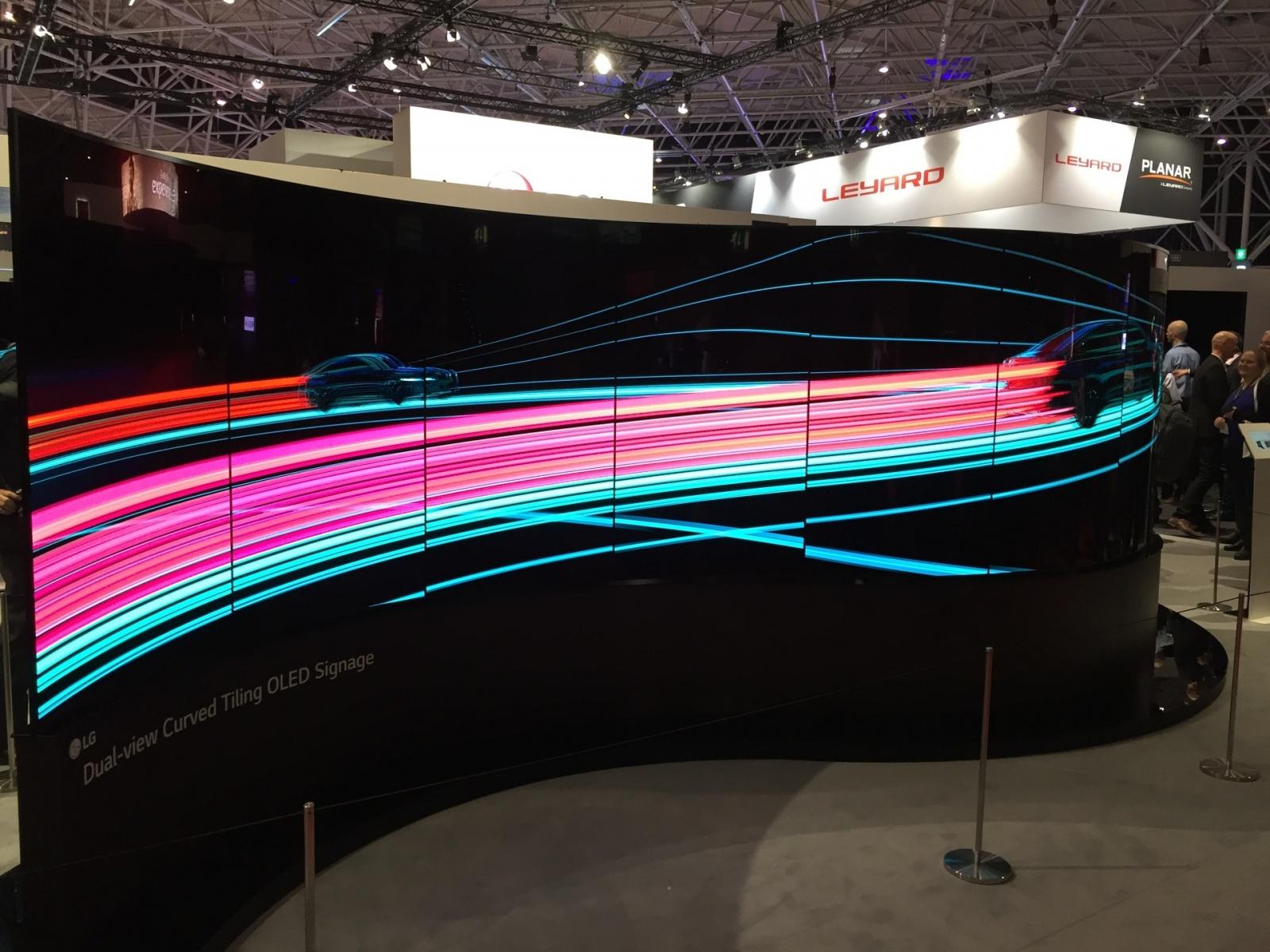 Что было на выставке ISE-2017 (средства отображения, светодиоды, софт для экранов) - 2