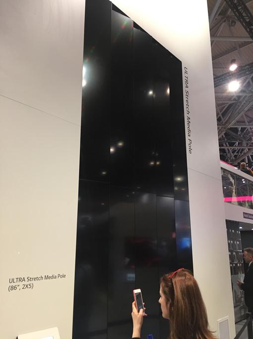Что было на выставке ISE-2017 (средства отображения, светодиоды, софт для экранов) - 9