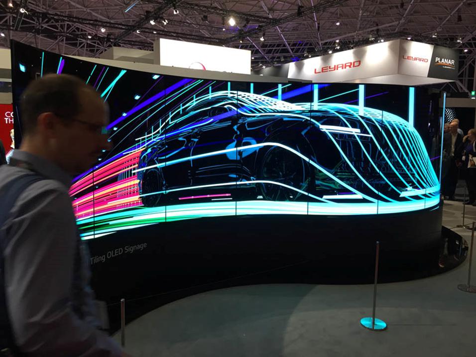 Что было на выставке ISE-2017 (средства отображения, светодиоды, софт для экранов) - 1