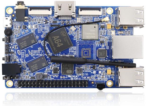 Модель Orange Pi Win поддерживает ряд дистрибутивов Linux