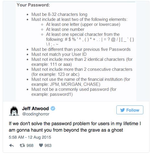 Требования к паролям — полная чушь - 1