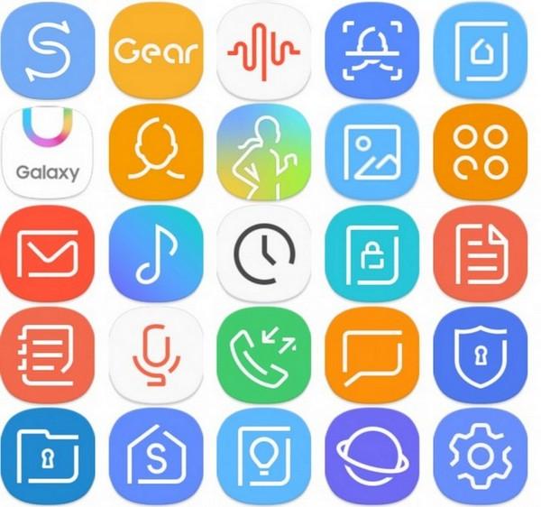 Опубликованы изображения меню и иконок смартфона Samsung Galaxy S8