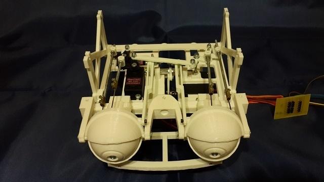 Робот промоутер — Oscar. Голова - 3