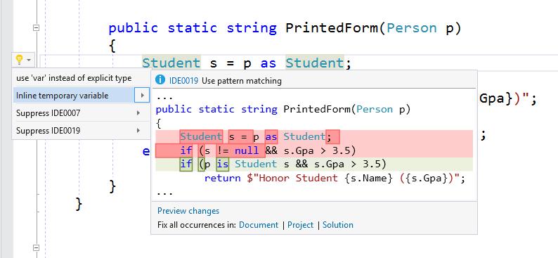 Конфигурирование стиля кода в Visual Studio 2017 - 5