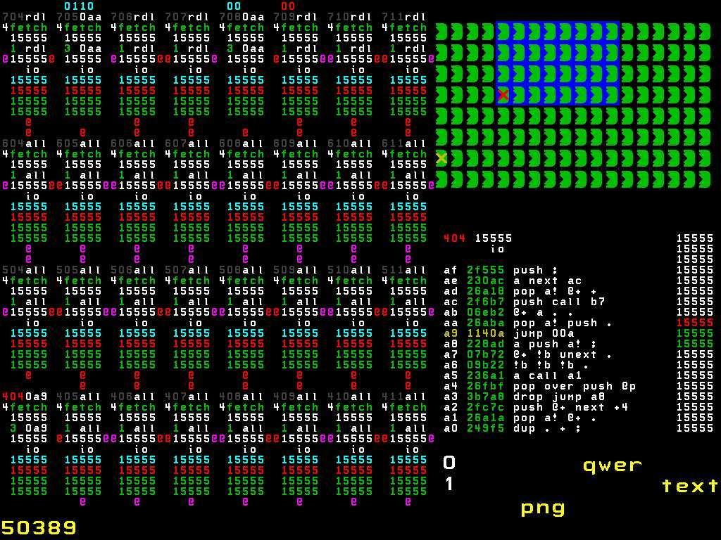 Лекция Чарльза Мура, создателя Forth: 144-ядерный процессор, зачем? Сложно ли запрограммировать 144 вычислительных ядра? - 14