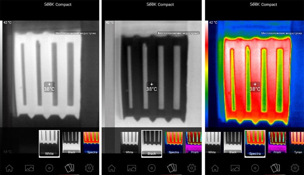 Обзор тепловизора Seek Thermal и его применение - 13