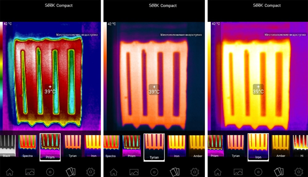Обзор тепловизора Seek Thermal и его применение - 14