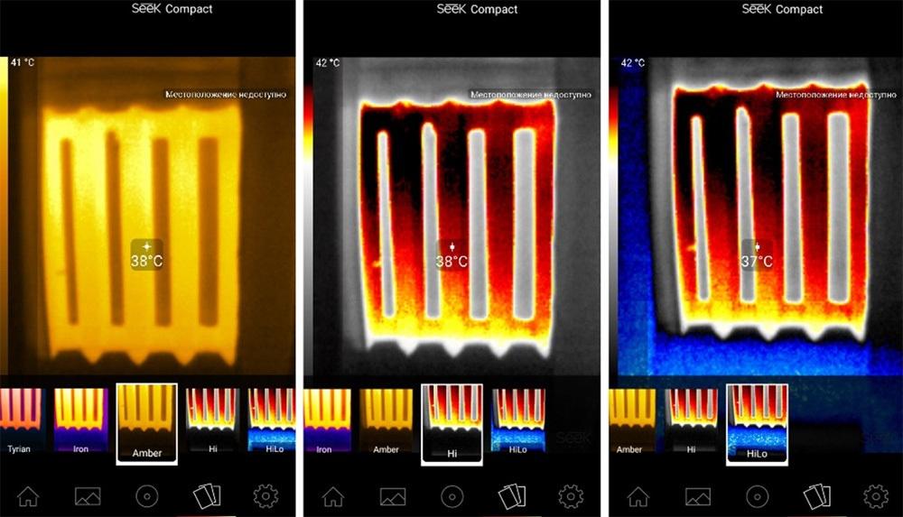 Обзор тепловизора Seek Thermal и его применение - 15
