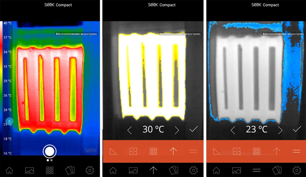 Обзор тепловизора Seek Thermal и его применение - 17