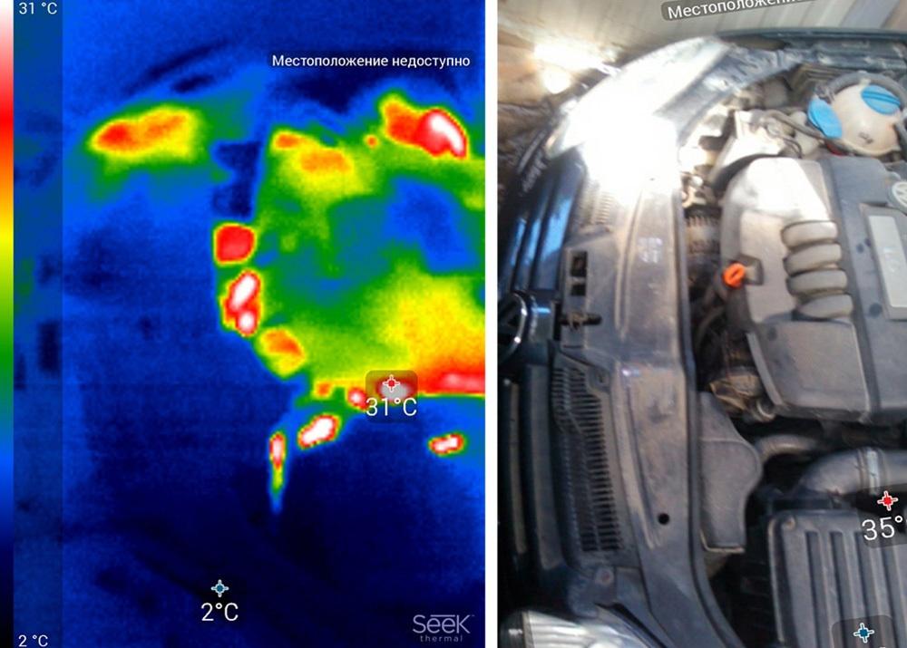 Обзор тепловизора Seek Thermal и его применение - 22