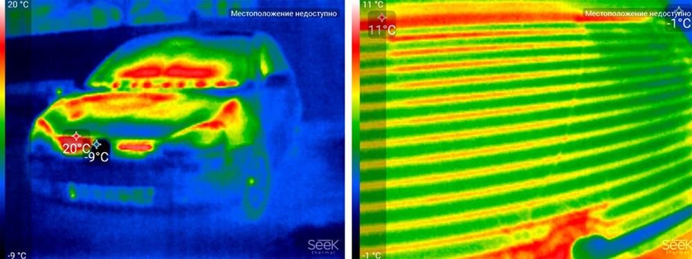 Обзор тепловизора Seek Thermal и его применение - 23