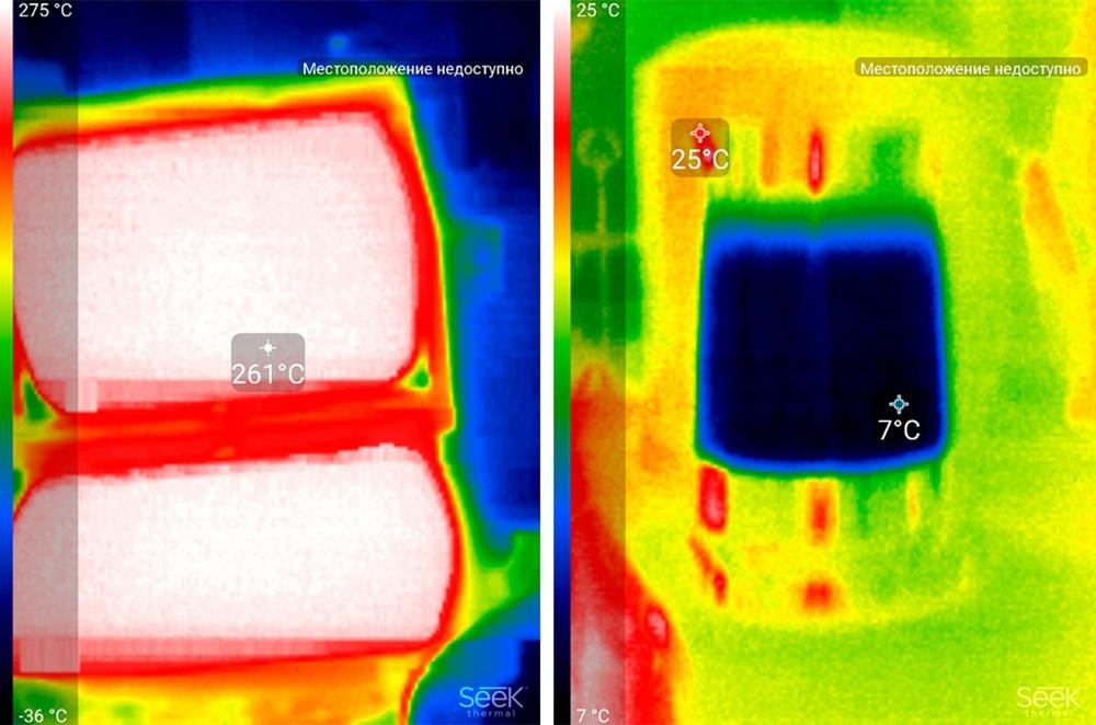 Обзор тепловизора Seek Thermal и его применение - 29