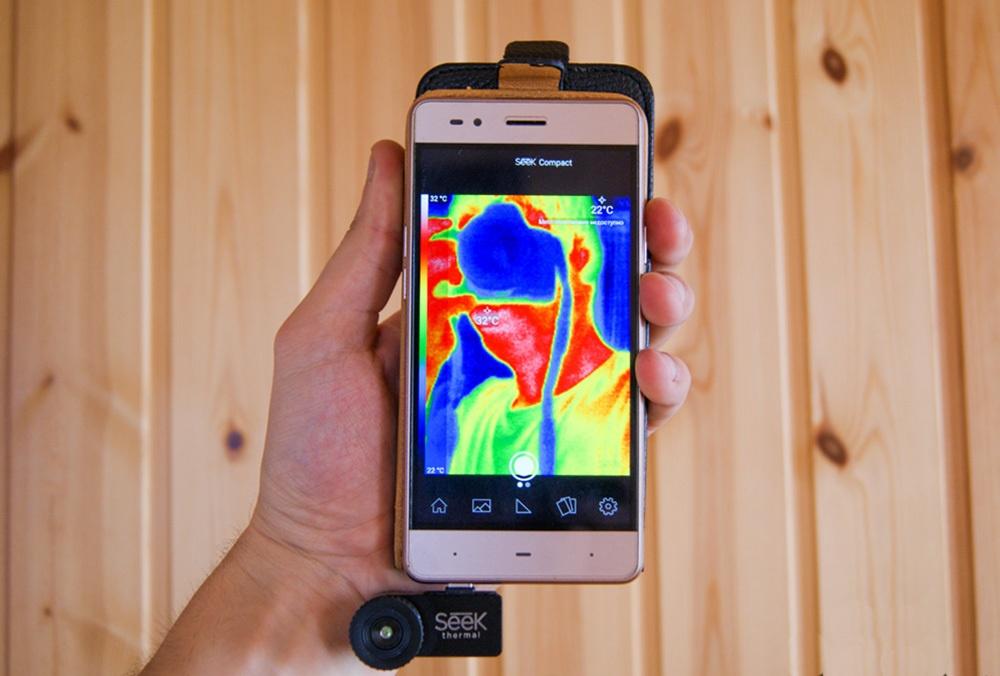 Обзор тепловизора Seek Thermal и его применение - 3