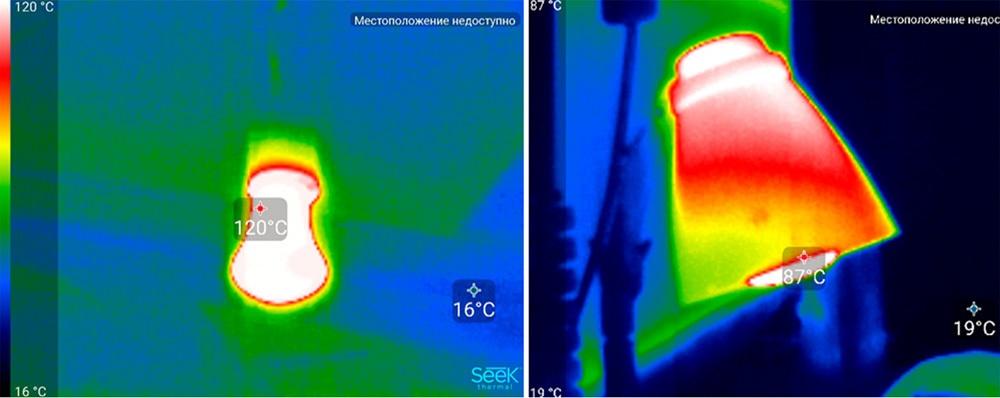 Обзор тепловизора Seek Thermal и его применение - 30