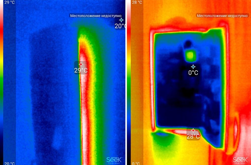 Обзор тепловизора Seek Thermal и его применение - 31