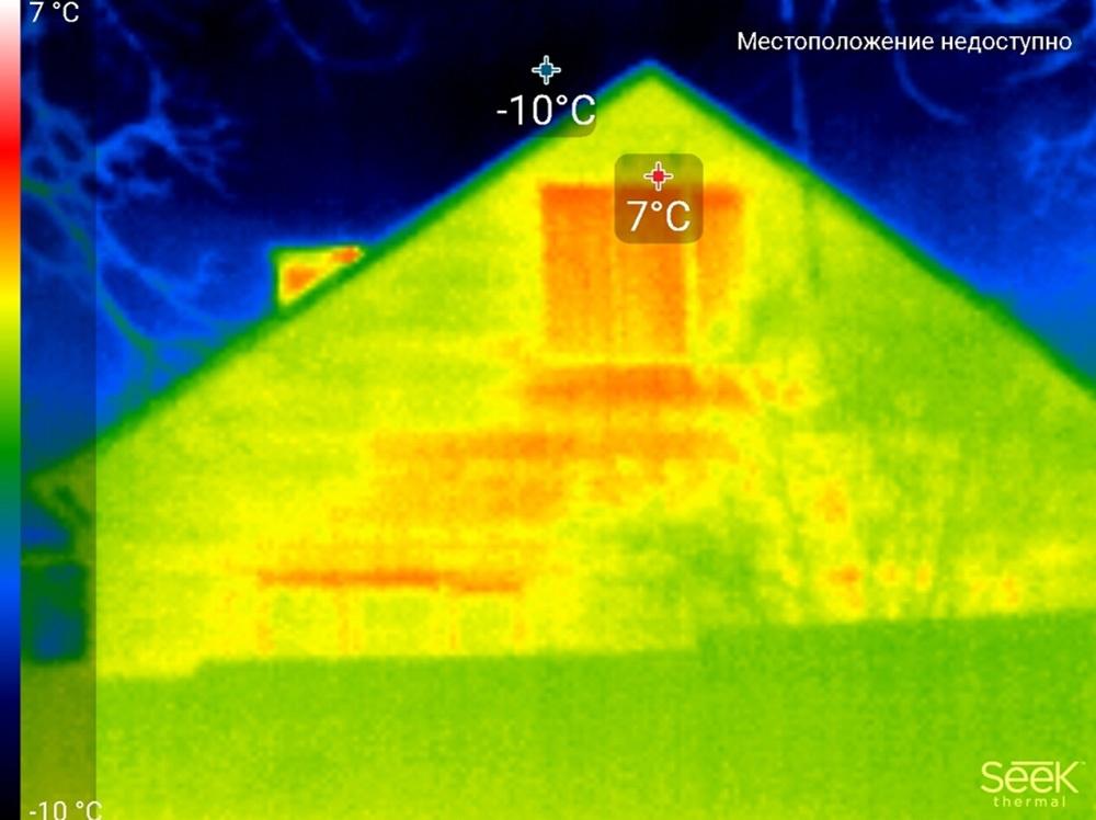 Обзор тепловизора Seek Thermal и его применение - 36