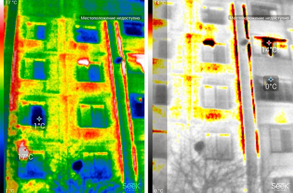 Обзор тепловизора Seek Thermal и его применение - 39